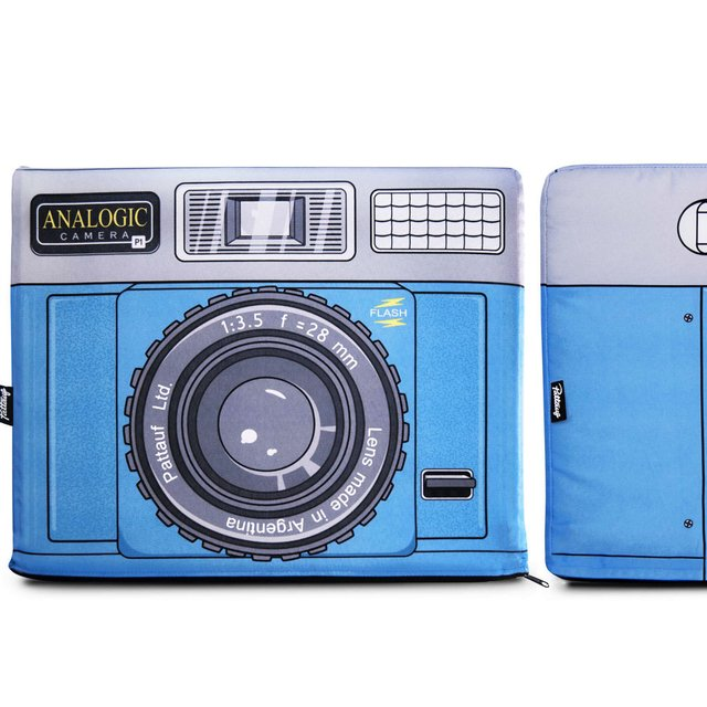 ANALOGIC CAMERA RED/ BLUE/ LIGHT BLUE - comprar online