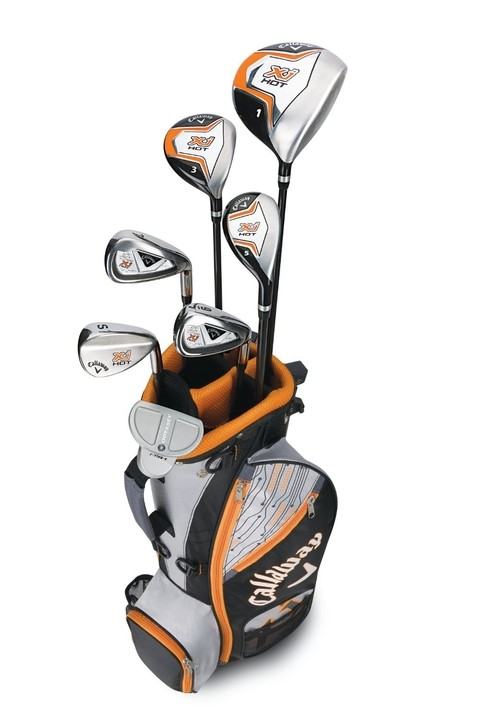 SET CALLAWAY X JUNIOR HOT 8 PC 9-12 Años - comprar online
