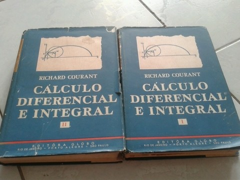 Cálculo diferencial e integral 2 volumes Richard courant
