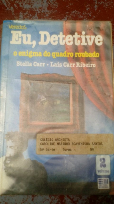 Eu detetive o Enigma do quadro roubado Stella Car Ribeiro segundo volume