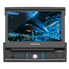 "DVD Player Automotivo Pósitron SP6320BT Tela7"" Entrada USB Cartão SD Card Bluetooth"