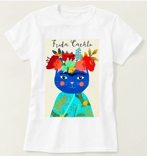 Camiseta Frida Catho Colorida