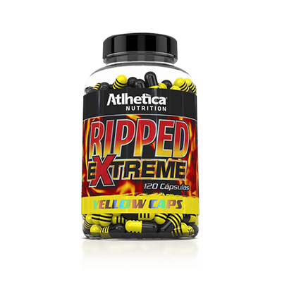 RIPPED XTREME YELLOW CAPS- ATLHETICA NUTRITION