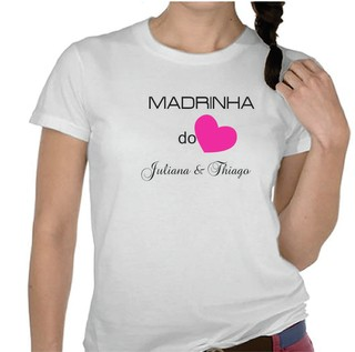 Camiseta Madrinha