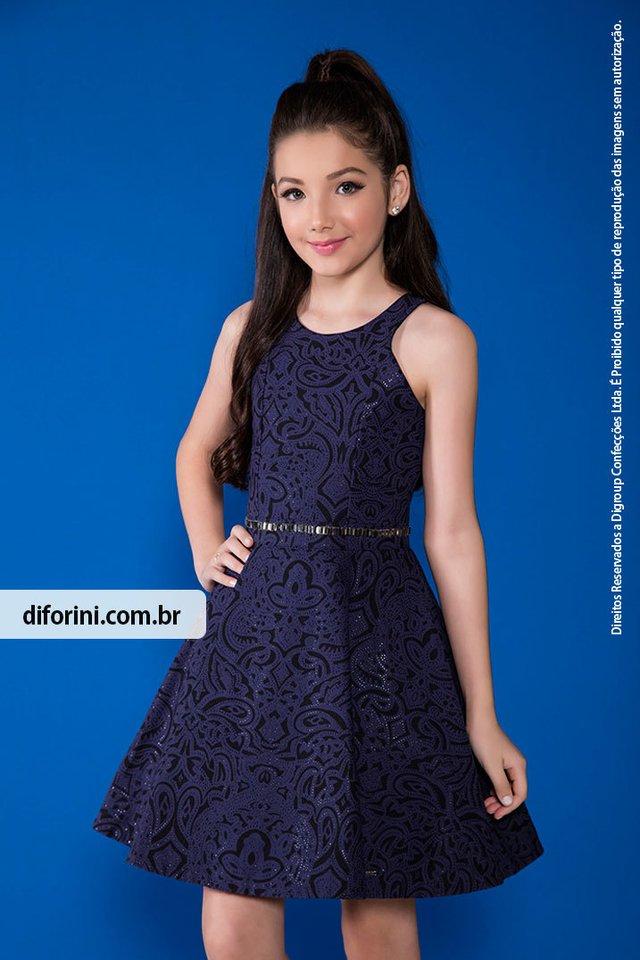 Manias modelo adolescente azul
