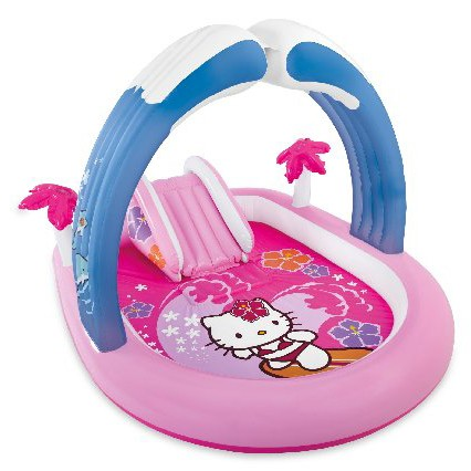 JUEGO INFABLE INTEX KITTY 211X163X121