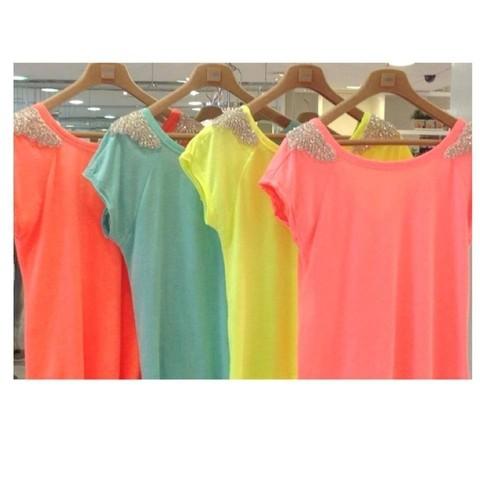 Oferta Blusas Verão várias cores