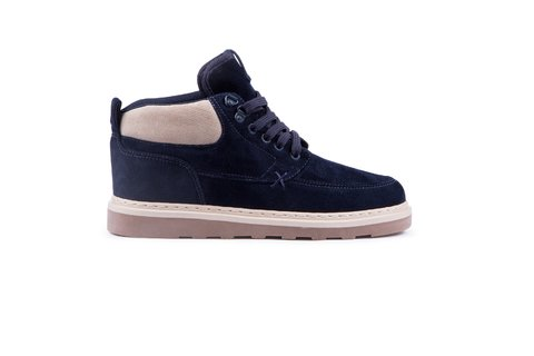 Hocks Coruna Trail Navy Veludo 10355