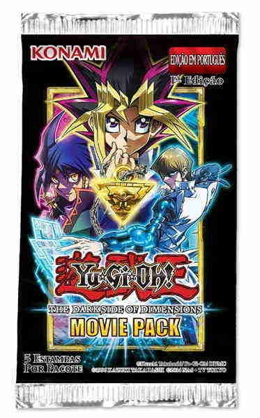 Yugioh bOOSTERS THE DARK SIDE OF DIMENSIONS - Movie Pack