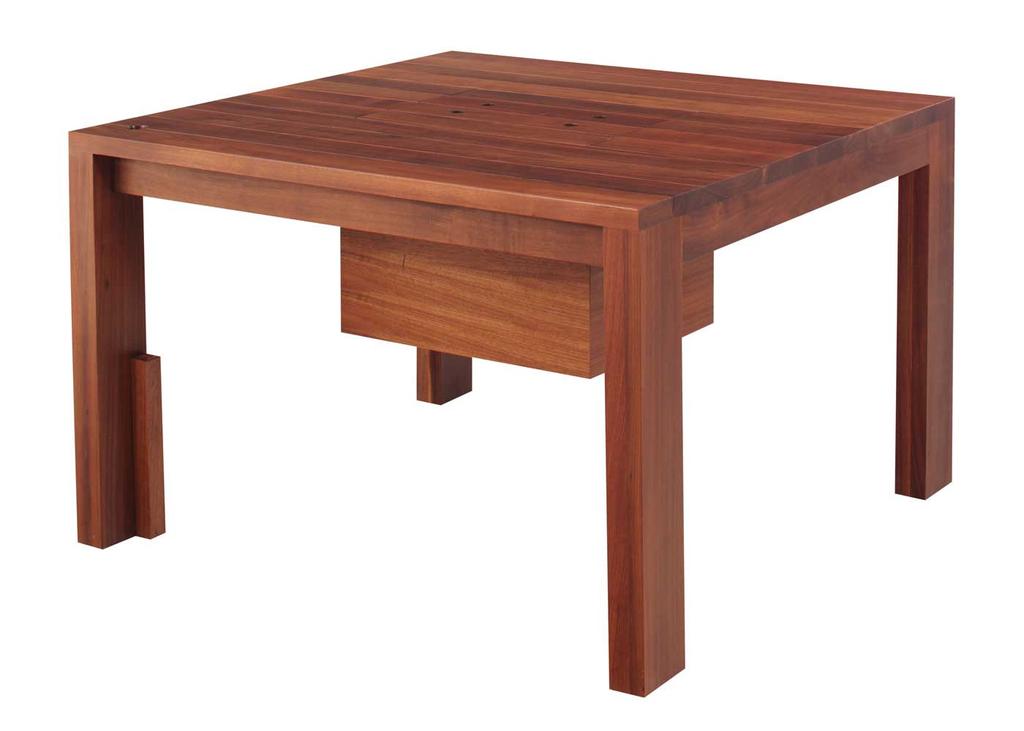 Mesa de exterior con hielera comprar en trazzo studio for Comprar muebles exterior