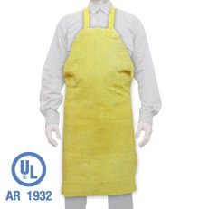 DELANTAL DESCARNE AMARILLO 70 X 110 SIN REFUERZO