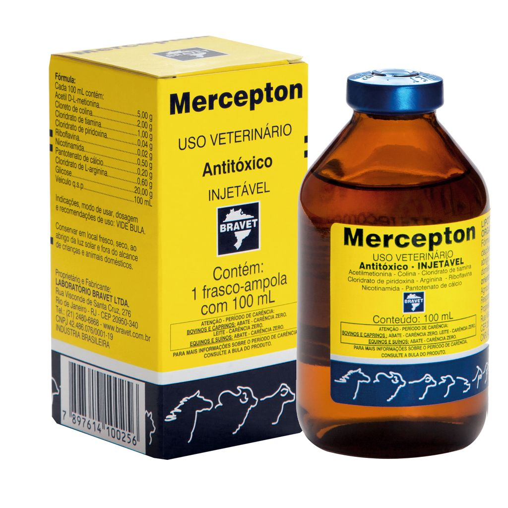 Mercepton Injetável 100ml