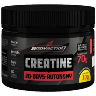 Creatine Powder 20 Days Autonomy (70g) -– Body Action