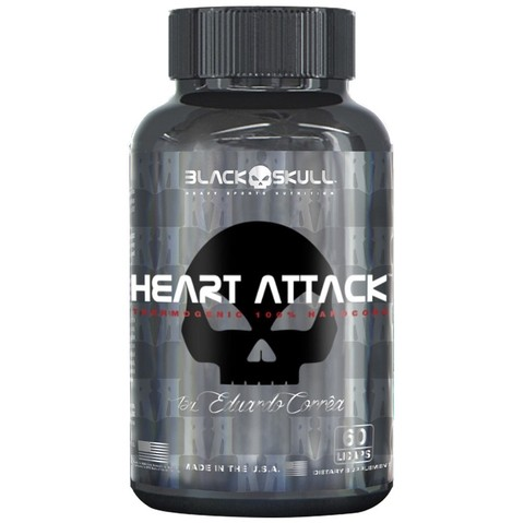 Heart Attack (60 cápsulas) -– Black Skull