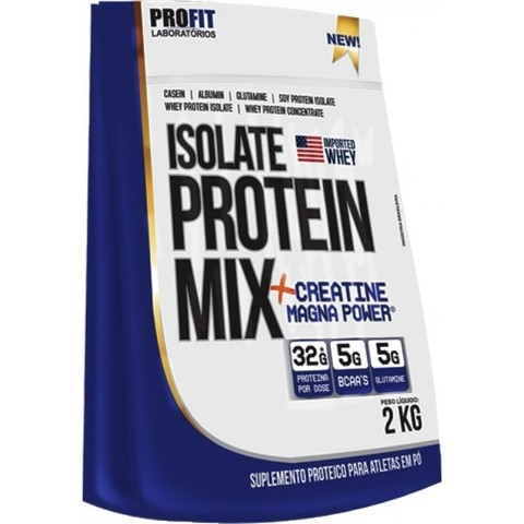 Isolate Protein Mix + Creatine Magna Powder (2kg) - Profit