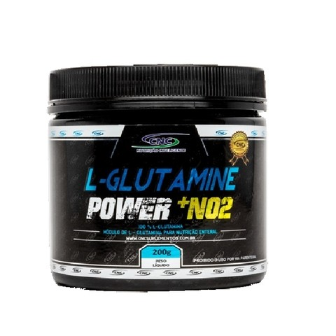 L-Glutamine Power + NO2 (200g) - CNC