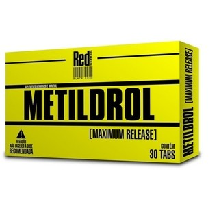 Metildrol Maximum Release 30 tabletes - Red Series