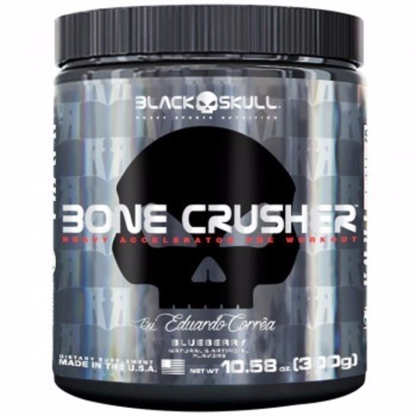Bone Crusher ( 60 doses ) - Black Skull
