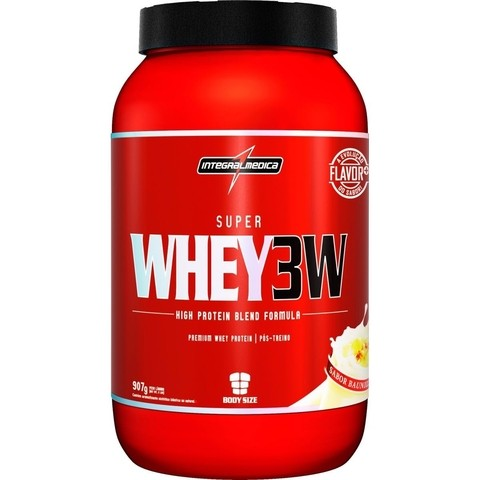 Super Whey 3W (907g) - Integralmédica