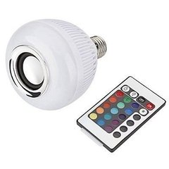 Lampada Led Music Bulb Party Ball Som Bluetooth com Controle