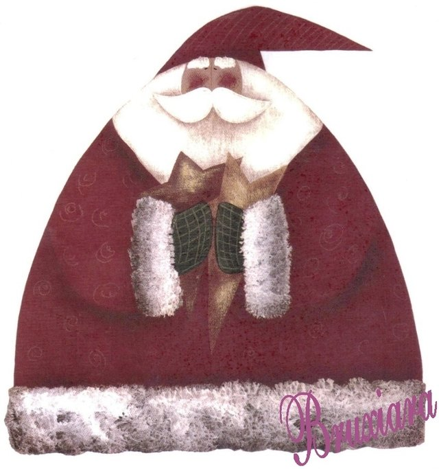 55183 Papai Noel Comprar Em Bruxiara Porcelanas