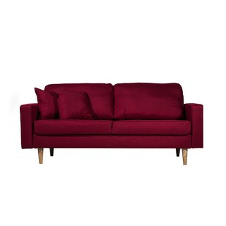 SILLON BOSTON 3 CUERPOS COLOR ROJO