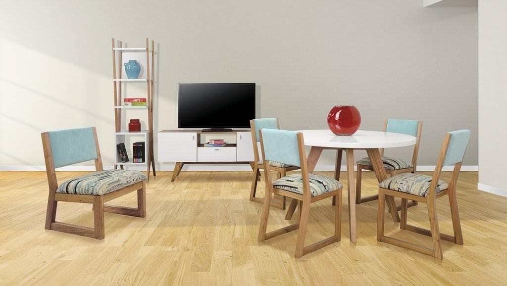Juego de comedor mesa y silla mykonos for Juego de comedor oferta