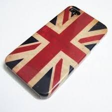 Capa de celular da Inglaterra iPhone 4