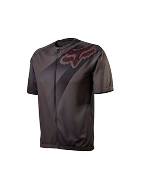 Camisa Fox Bike Livewire Descent 15 (Charcoal) [L]