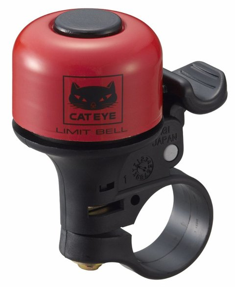 Campainha PB800 Limit Red Cateye