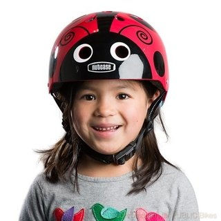 Capacete Infantil Little Nutty Ladybug Nutcase na internet
