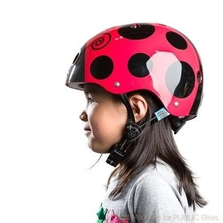 Capacete Infantil Little Nutty Ladybug Nutcase - Bike Time