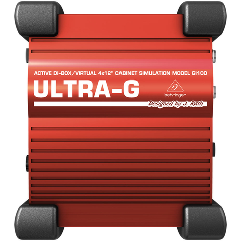 Behringer ULTRA-G GI100 - Direct Box Ativo - AC0037