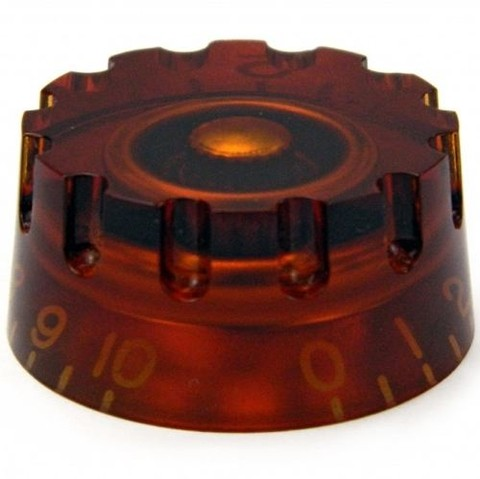 Knob Santo Angelo Les Paul Plastico Brown - AC0073