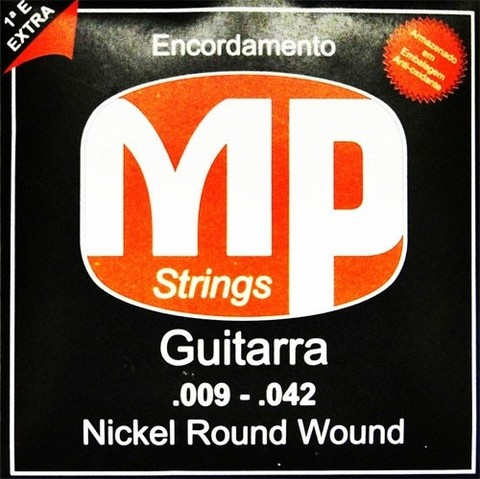 Encordoamento P/ Guitarra MP Strings MPE500 0.009/0.042 - EC0288