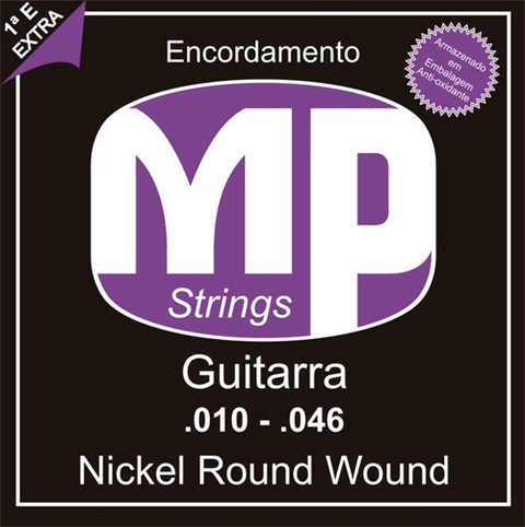 Encordoamento P/ Guitarra MP Strings MPE510 0.010/0.046 - EC0282