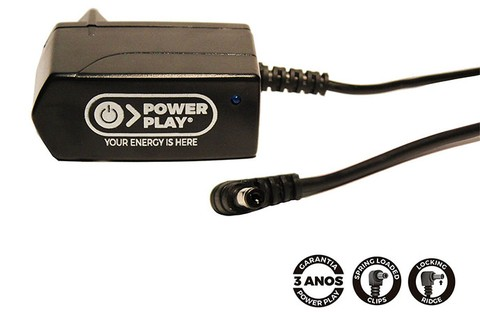 Fonte Power Play SINGLE POWER 12 VDC - 1000 mA - FT0044