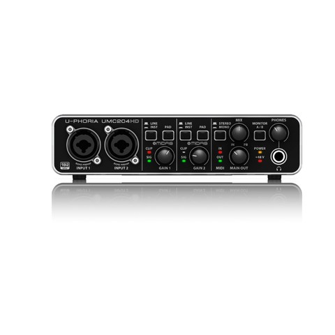 Interface de Audio Behringer U-Phoria UMC204HD - AC0998