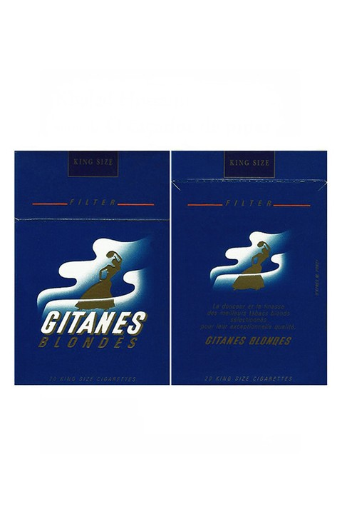BOX GITANES BLONDES FILTER SEITA MADE BY FRANCE