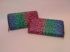 Billetera Colorful Animal Print
