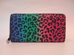 Billetera Colorful Animal Print - comprar online