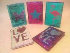Cuaderno Switch Sequin