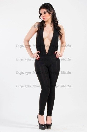 Enterito-catsuit-escote Marylin Chupin-muy Sexy!!