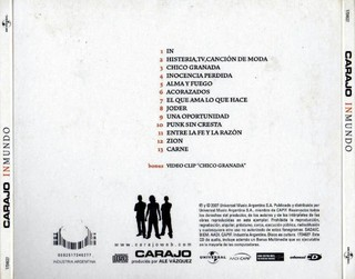 CD Inmundo - 2007 en internet