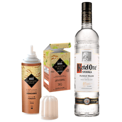Kit Vodka Ketel One + Moscow Mule