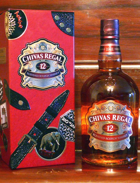 Chivas Regal 12 años Made for Gentlemen - 1000 ml