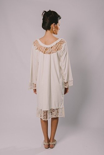 FILET LACE TUNIC on internet