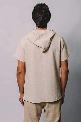 T -SHIRT WITH HOOD - buy online