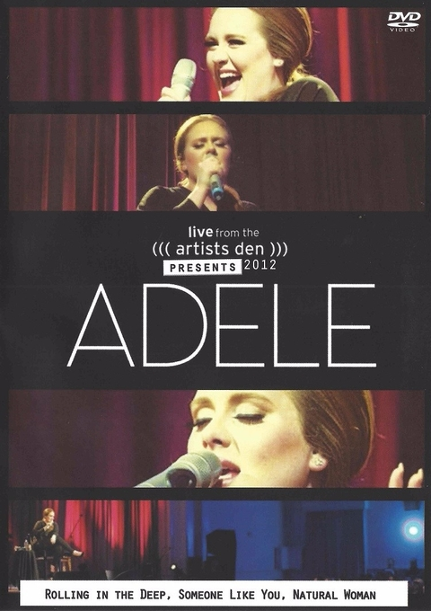 DVD - Adele Live from the Artists Den Presents 2012
