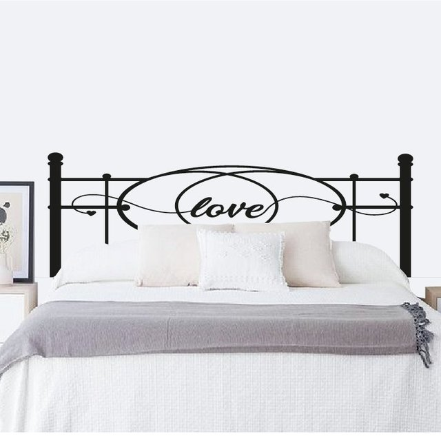 RESPALDO ANTIGUO LOVE - VINILO DECORATIVO
